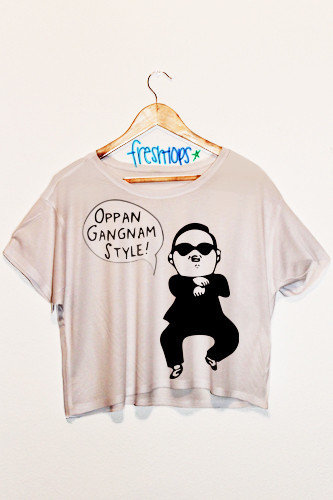 high chairs amazon imperator works gaming chair gangnam style crop top | fresh-tops.com on wanelo