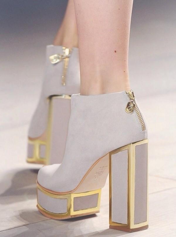 Shoes high heels nude pumps extraordinary haute