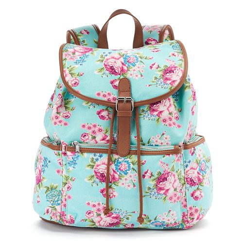 Candies Nicole Floral Backpack