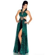 Dress: prom dress, leopard print - Wheretoget