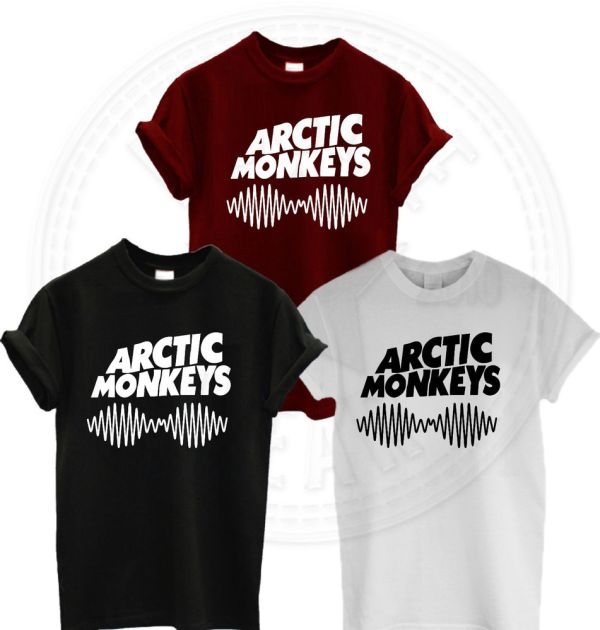973377031 Arctic Monkeys Wanna T Shirt - Year of Clean Water