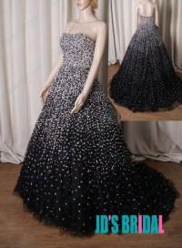 Dress: evening dress, prom dress, prom gown, black ...