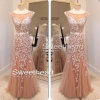Sweetheart Girl | A-line backless Lace Prom Dresses, Lace ...