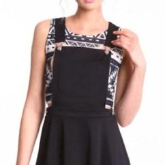Kitchen Tables At Target Remodeling Ideas For Kitchens Dress: Black Overall Dress - Wheretoget