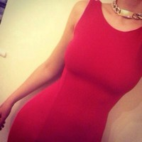 Dress: maxi dress, prom dress, red dress, bodycon, bodycon ...