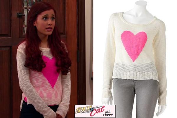 Sweater: Ariana Grande, Cat Valentine, Cat Valentine
