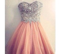 dress, style, sparkly dress, cute dress - Wheretoget