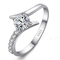 jewels, anniversary ring for her, engraved ring for her ...