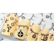 nail accessories art chanel