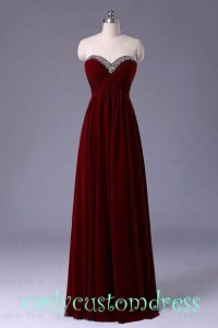 Dress: burgundy, maroon prom dress, prom dress, long prom ...