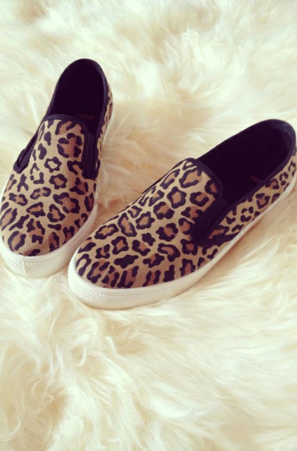 Shoes leopard print slip on shoes slip on shoes