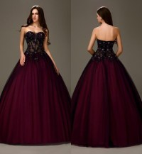 dress, prom dress, burgundy dress, ball gown dress ...