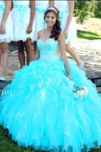dress, jewels, sparkle, aqua, prom dress, long dress ...