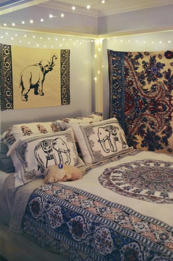 home accessory boho bedroom bedding pillow sheets  Wheretoget