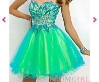 Dress: strapless prom dress, prom dress, short prom dress ...