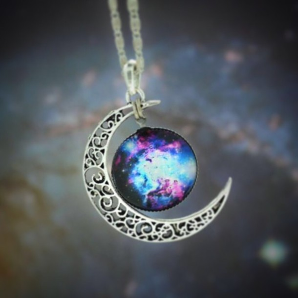 kitchen tables at target storage space in jewels: necklace, moon galaxy print, pendant ...