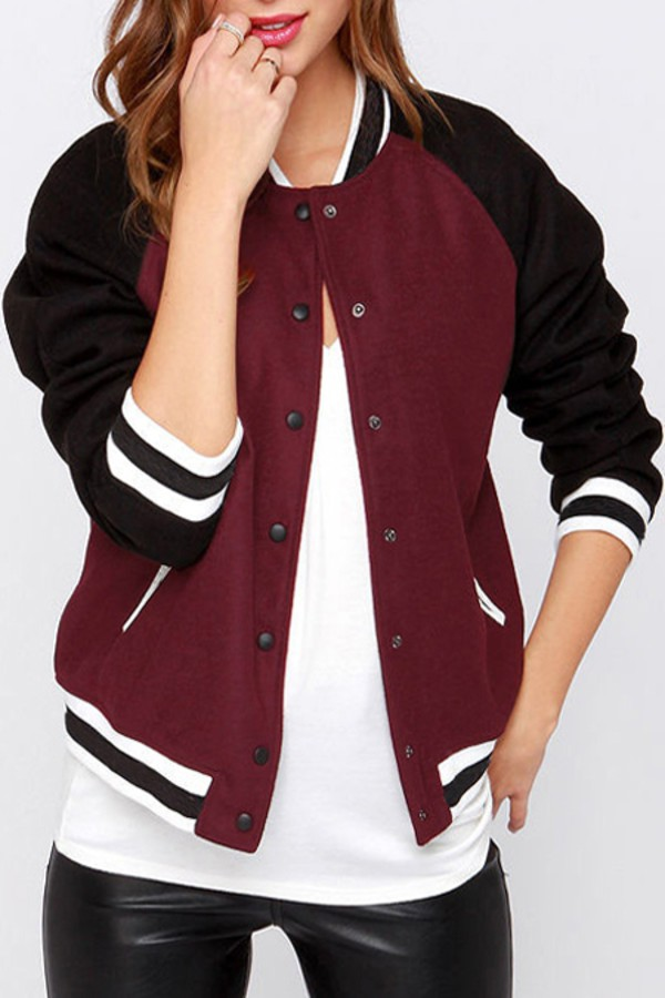 maroon office chairs swivel gaming chair jacket, black, baseball tee, teddy urban, swag, back to school, outfit ...