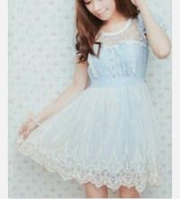 dress, kawaii dress, kfashion, jfashion, girly - Wheretoget