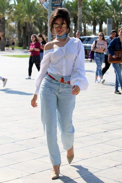 kitchen tables at target glass door cabinets blouse: shirt, top, fall outfits, streetstyle, camila ...