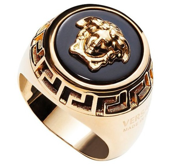 jewels versace ring the bling ring gold gold ring  Wheretoget