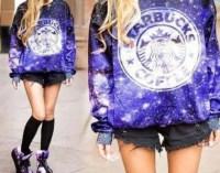 Sweater: starbucks logo, starbucks coffee, starbucks