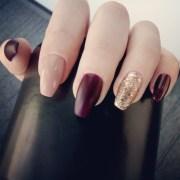 essie nail color bordeaux - makeup