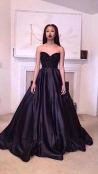 Black Poofy Prom Dresses - Discount Evening Dresses