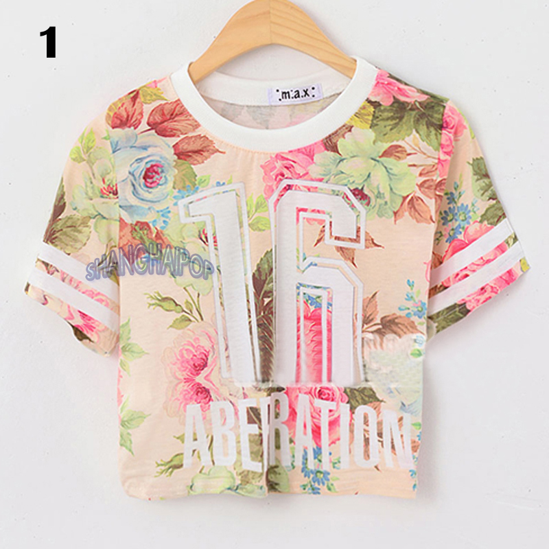 floral t shirt women s