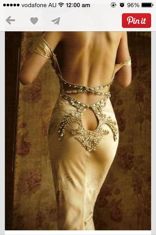 Dress ball gown dress butt cleavage dress elegant long