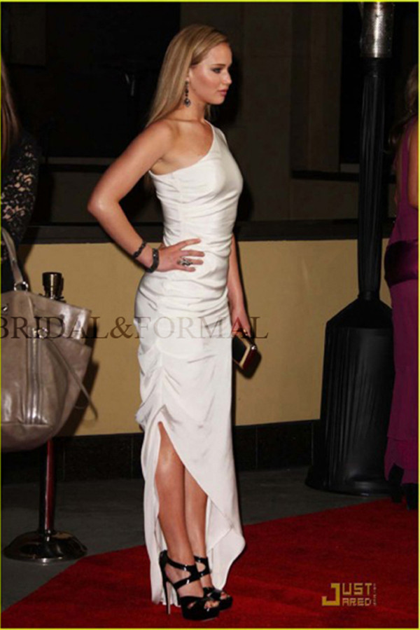 Jennifer Lawrence Directors Guild Awards Side Slit Prom