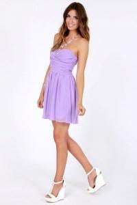 lavender dress, lilac dress, short dress, spring dress ...