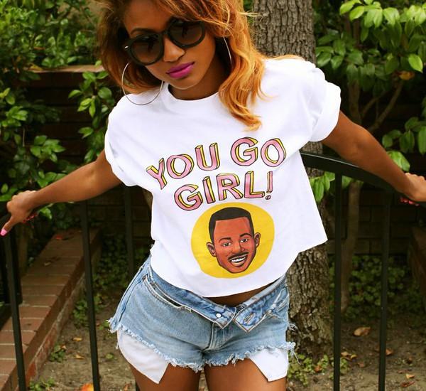 Tshirt martin lawrence you go girl martin tv show 90s