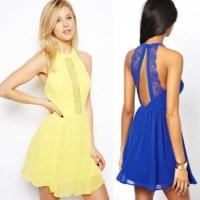 dress, boho dress, casual, casual dress, yellow dress ...