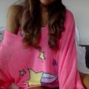 sweater ariana grande pink