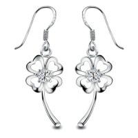 Gold Plated Flower Drop Earring for Sensitive Ears - Ear ...