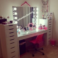 home accessory, chair, pink, makeup table - Wheretoget