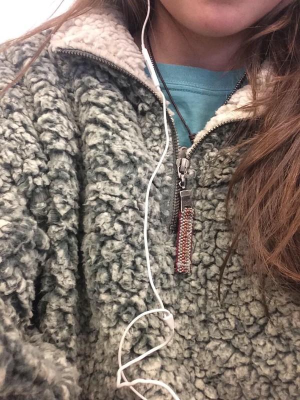 Jacket soft jacket soft pullover half hoodie wool