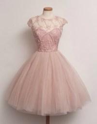 Dress: prom dress, pink dress, patterned dress, puffy ...