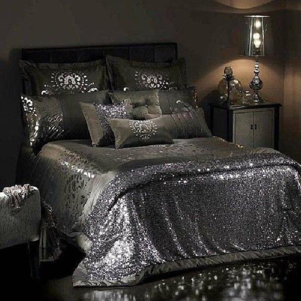 Dress: bedding, sheets, bedding, sequins, house, details