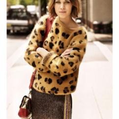 Animal Print Sofas Kivik Sofa And Chaise Lounge Orrsta Light Gray Pull En Laine D\'agneau Claudie Pierlot Femme - Boutique ...