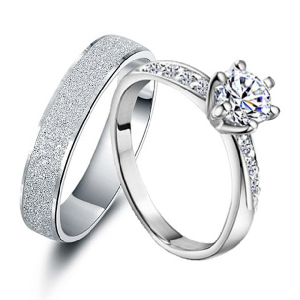 Cheap Wedding Ring Sets For His And Her Interesting Happy
