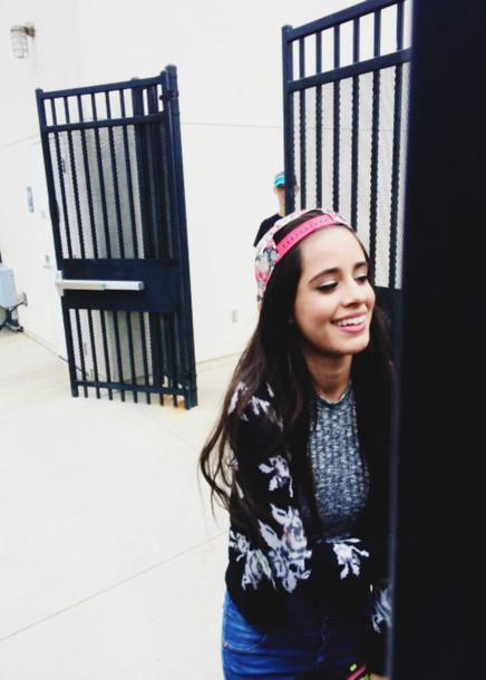 Cute Earphones Wallpaper Camila Cabello Snapback Top Cardigan Wheretoget