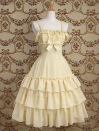 dress, lolita, classic lolita, cute dress, kawaii, pastel ...