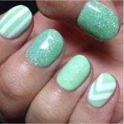 nail polish teal sparkly - wheretoget