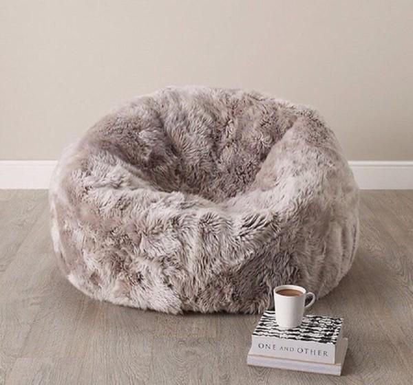 Home accessory cozy bean bag fluffy  Wheretoget