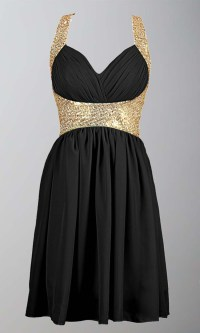 Black And Gold Prom Dresses Cheap - Eligent Prom Dresses