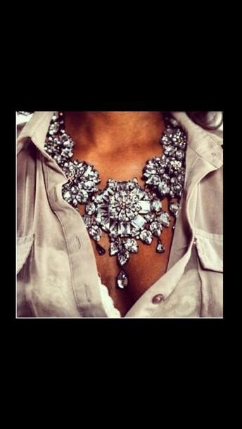 Goddy Jewelry : goddy, jewelry, Jewels,, Necklace,, Gaudy,, Jewelry,, Tumblr,, Girly,, Luxury,, Statement, Hipster, Wheretoget