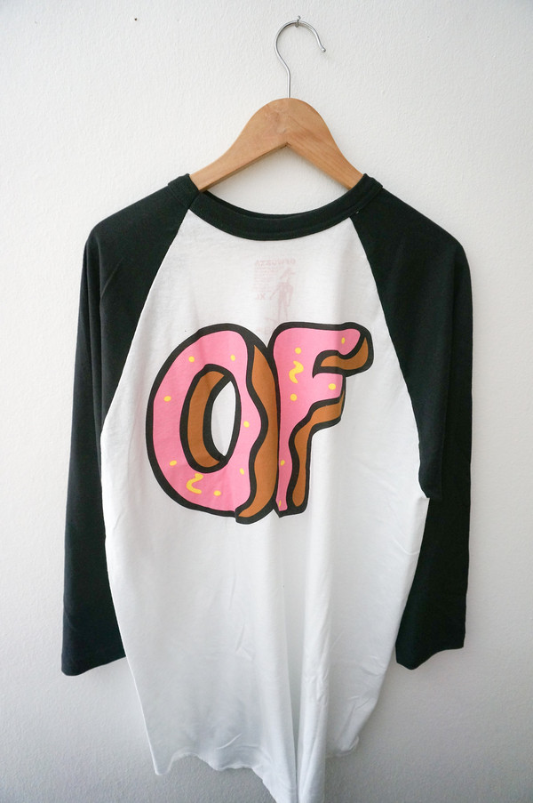 Shirt baseball shirt golf wang odd future tumblr