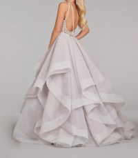 white prom dress, long prom dress, fluffy prom dress