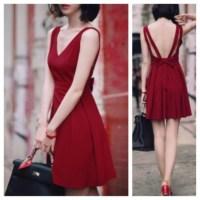 Dress: cute, backless, cute dress, prom dress, fashion ...